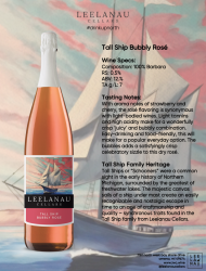 tall ship bubbly rose specs